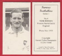 Preston North End Tom Finney England